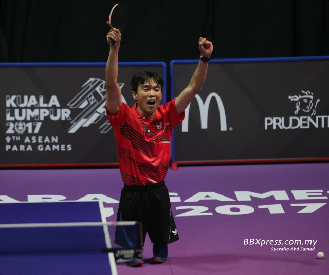 PARA ASEAN KL2017/ TABLE TENNIS