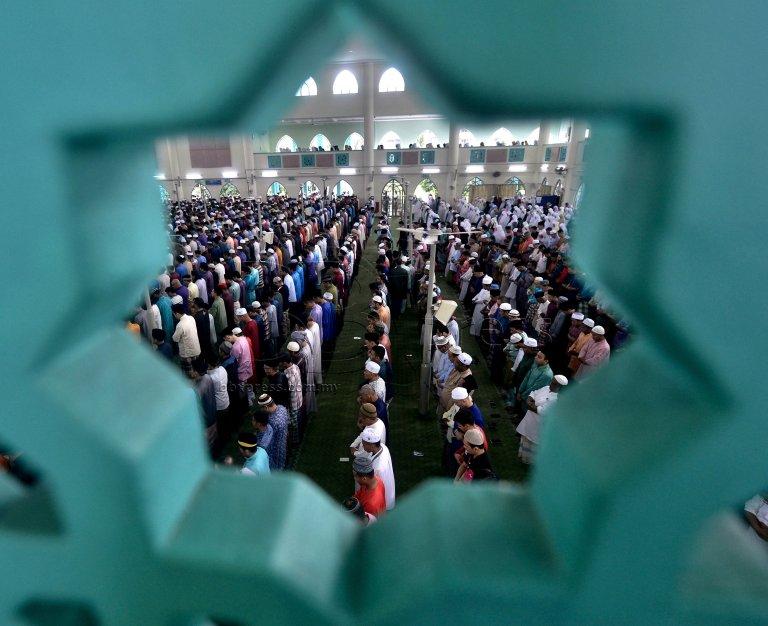 SOLAT AIDILFITRI / MASJID AL-AZIM
